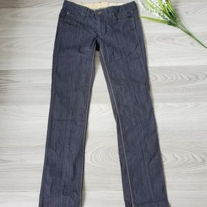RAG AND BONE skinny dark wash jeans